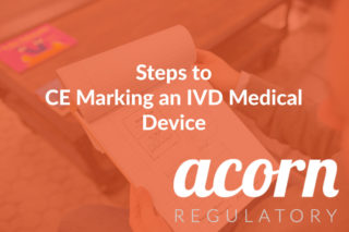 Steps to CE Marking an IVD Medical Device