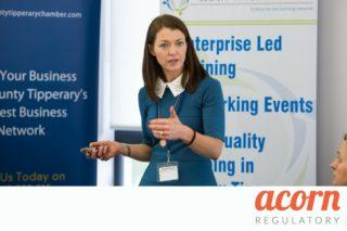 Manufacturing Excellence Overview of EU Regulatory Framework - Acorn Regulatory Presents at Industry Event