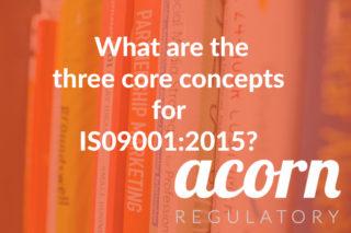 Acorn Regulatory ISO 9001 2015