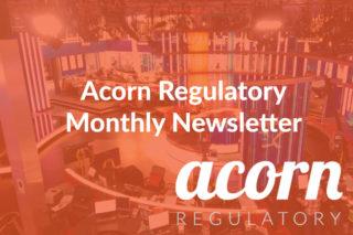 acorn regulatory affairs newsletter