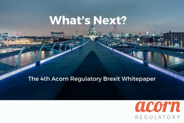 Brexit Whitepaper from Acorn Regulatory